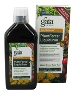 Gaia Herbs - Plant Force Liquid Iron -