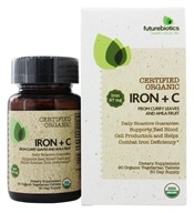 Futurebiotics - Organic Iron + C - 90
