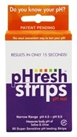 Phresh Saliva & Urine pH Test Strips