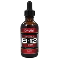 AnuMed - Metabolic B-12 Liquid Drops 1000 mcg.