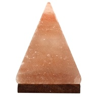 Himalayan Crystal Salt Pyramid Salt Lamp by Aloha Bay