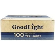 Tea Lights Unscented - 100 Count