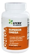 LuckyVitamin - Superior Omega-3 - 60 Enteric Coated Softgels