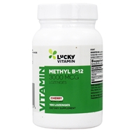 LuckyVitamin - Methyl B12 Cherry 3000 mcg. - 100 Lozenges