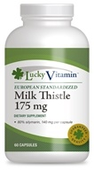 LuckyHerbs - Milk Thistle Extract by LuckyVitamin 175 mg. - 60 Capsules