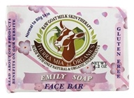 Raw Goat Milk Skin Therapy Face & Body Soap Bar