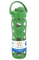 Lifefactory - Glass Beverage Bottle With Silicone Sleeve