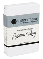 Christina Maser - Aromatherapy Bar Soap Peppermint Poppy