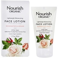 Nourish - Organic Lightweight Moisturizing Face Lotion Argan