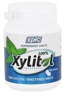 Epic Dental - Xylitol Sweetened Mints Peppermint -