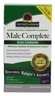 Nature's Answer - Male Complete Quick-Sorb ExtractaCaps -