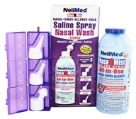 NeilMed Pharmaceuticals - NasaMist Saline Spray Nasal Wash