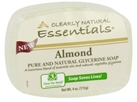 Clearly Natural - Glycerine Soap Bar Almond -