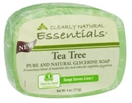 Clearly Natural - Glycerine Soap Bar Tea Tree