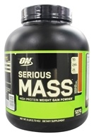 Optimum Nutrition - Serious Mass Chocolate Peanut Butter