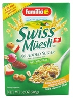 Swiss Muesli All Natural No Added Sugar