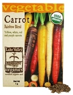 Organic Carrot Rainbow Blend Seeds