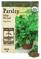 Organic Parsley Italian Flat Leaf Seeds