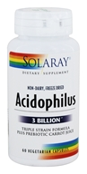 Solaray - Acidophilus 3 Billion - 60 Capsules