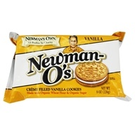 Newman's O's Creme Filled Vanilla Cookies