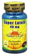 Nature's Life - Super Lutein 40 mg. -