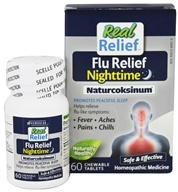 Homeolab USA - Real Relief Flu Nighttime Naturcoksinum
