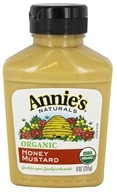 Annie's - Organic Mustard Honey - 9 oz.