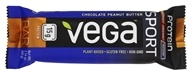 Vega - Vega Sport Plant-Based Protein Bar Chocolate Peanut Butter - 2.14オンス