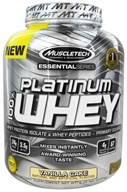 Muscletech Products - Platinum Essential Series 100% Whey