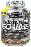 Muscletech Products - Platinum Essential Series 100% Iso-Whey