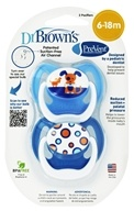 PreVent Orthodontic Pacifiers Unique 6-12m