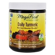 MegaFood - Daily Turmeric Nutrient Booster Powder -