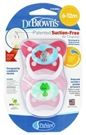PreVent Orthodontic Pacifiers Butterfly 6-12m