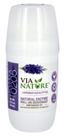 Via Nature - Natural Enzyme Roll-On Deodorant Lavender