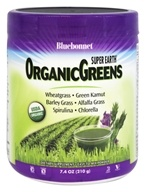 Bluebonnet Nutrition - Super Earth OrganicGreens - 7.4