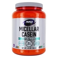 NOW Foods - Instantized Micellar Casein Natural Unflavored