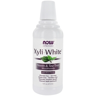 NOW Foods - XyliWhite Mouthwash Fluoride-Free Neem &