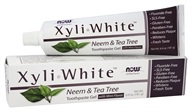 NOW Foods - XyliWhite Toothpaste Gel Fluoride-Free Neem