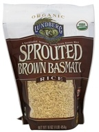 Lundberg - Organic Sprouted Brown Basmati Rice -