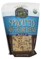 Lundberg - Organic Sprouted Tri-Color Blend Rice -