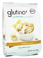 Glutino - Gluten Free Wafer Bites Lemon Flavored
