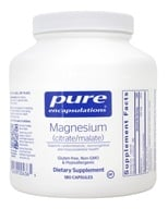 Pure Encapsulations - Magnesium (citrate/malate) - 180 Capsules