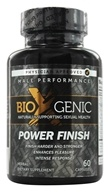 BioXgenic - Power Finish Male Performance - 60