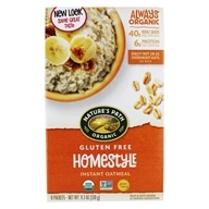 Nature's Path Organic - Instant Hot Oatmeal Homestyle
