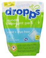 Dropps - Laundry Detergent Pacs 6x Concentrated Scent