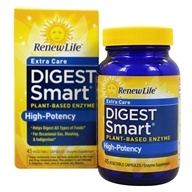 Renew Life - Digest Smart Extra Care Plant-Based
