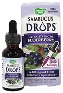Nature's Way - Sambucus Drops Ultra-Strength Elderberry -
