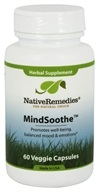 Native Remedies - MindSoothe Herbal Supplement - 60
