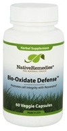 Native Remedies - Bio-Oxidate Defense Herbal Supplement -