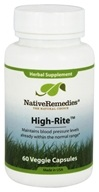 Native Remedies - High-Rite Herbal Supplement - 60